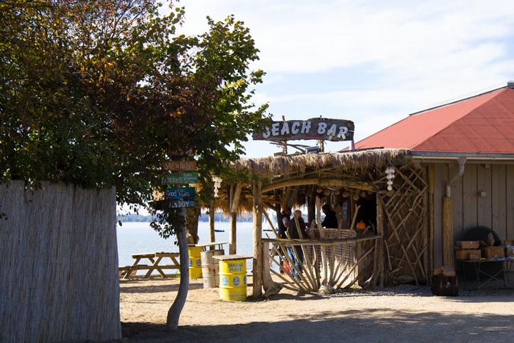 Ferienwohnung Übersee Beach Bar